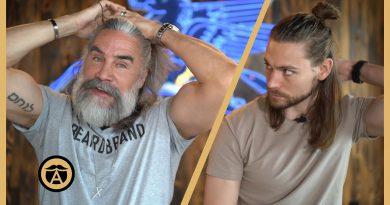 5 Ways to Style Men's Long Hair in 2020 | Greg Berzinsky (with Trav White)