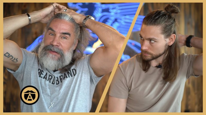 5 Ways to Style Men's Long Hair in 2020   Greg Berzinsky (with Trav White)