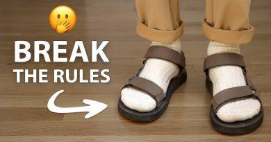 "9 Men's Fashion ""Rules"" You Should BREAK"