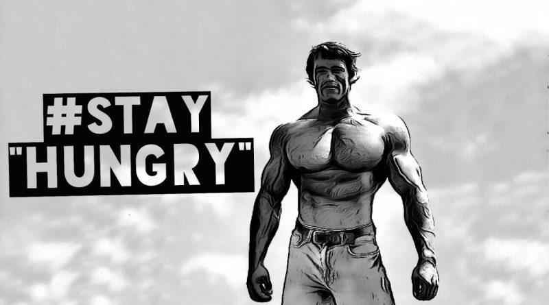 "BODYBUILDING MOTIVATION - ""STAY HUNGRY"""