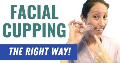 DIY Facial Cupping Tutorial   Facial Cupping the RIGHT WAY