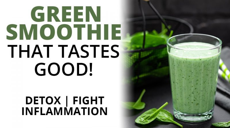 Delicious & Super Healthy Green Smoothie! (Fight Inflammation and Joint Pain)