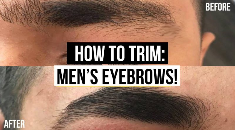 MEN'S EYEBROW GROOMING TUTORIAL *EASY GROOMING ROUTINE*  | JAIRWOO