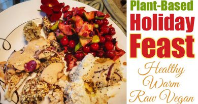 Plant Based High Protein Holiday Meal with Gravy