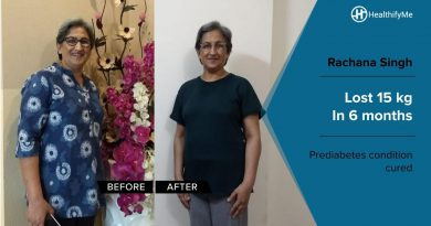 Rachna's incredible weight loss journey of 15 kg | HealthifyMe | Transformation Stories