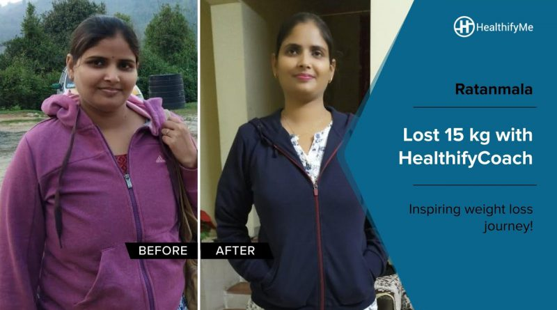 Ratanmala's inspiring weight loss journey of 15 kg! | Transformation Stories | HealthifyMe