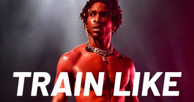 SAINt JHN's Burning Ab Workout | Train Like a Celebrity | Men's Health