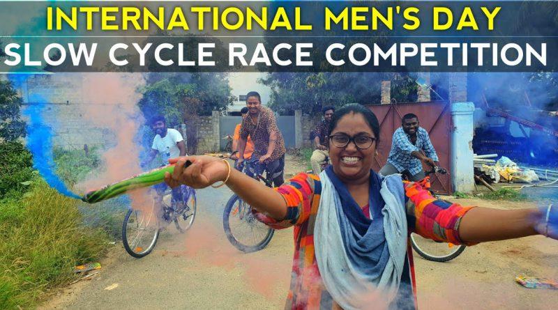 Slow Cycle Race Championship   International Men's day Celeberation