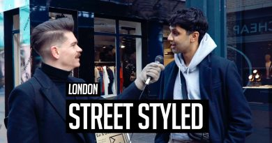 Street Styled   Men's Hair and Style in London   Winter 2018