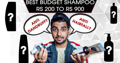 TOP 5 BUDGET SHAMPOOS FOR INDIAN MEN! Best anti dandruff, hairfall shampoos under rs900