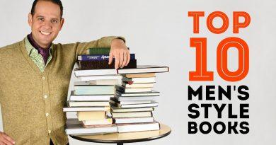 Top 10 Men's Style Books