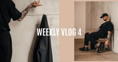 WEEK IN THE LIFE   Shopping, Photoshoot, Recent pick ups   Men's Fashion