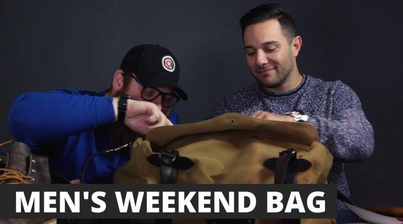 WEEKENDER BAG   WHAT'S IN MY BAG? [MEN'S LIFESTYLE]