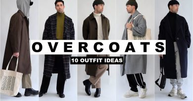 10 Ways To Style Overcoats   Men's Fashion 2020