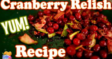 Cranberry Relish AMAZING Recipe