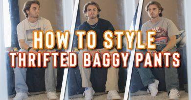 HOW TO STYLE: BAGGY PANTS | Vintage Streetwear Lookbook | Men's Fashion