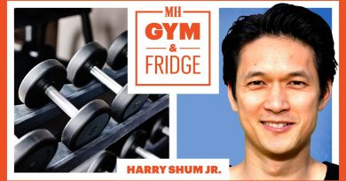 Harry Shum Jr. Shows His Home Gym & Fridge | Gym & Fridge | Men's Health