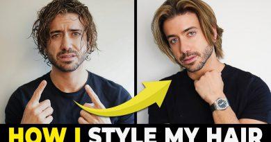 MEN'S HAIRSTYLE TUTORIAL | How To Style Medium Length Hair | Alex Costa