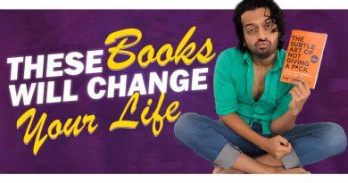 These 4 Books Transformed Me || Men's Lifestyle Telugu ||Aye jude!