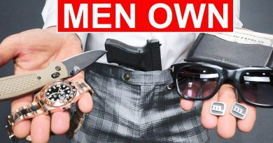 10 Things Men OWN That Boys DON'T! (MUST HAVES)