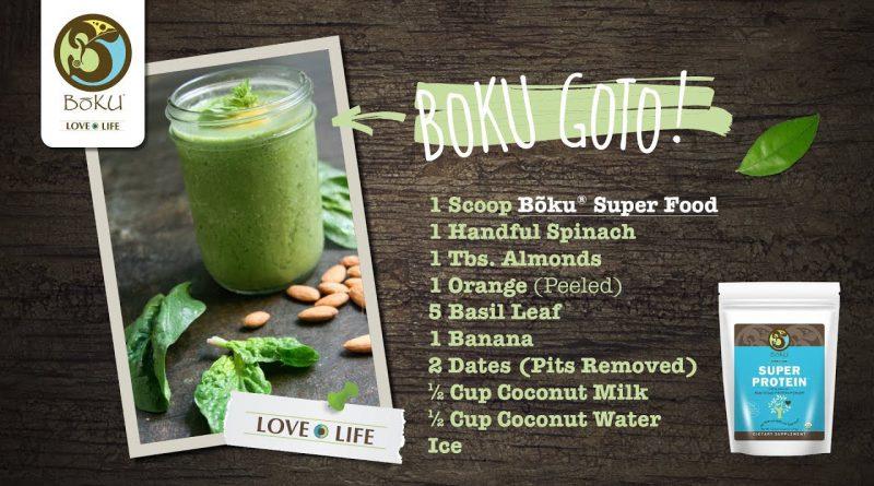 'BoKu GoTo' Superfood Smoothie Recipe