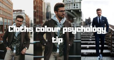 Color phychology tips || Men's wear || men's lifestyle ||