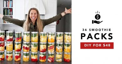 DIY Frozen Smoothie Packs on a Budget