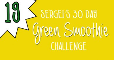 Green Smoothie Challenge Day 19 (featuring papaya)