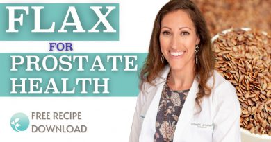 How to Shrink Prostate Cancer Naturally with Flaxseeds