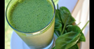 Low Carb Green Smoothie Recipe