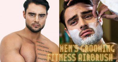 Men's Grooming Fitness Airbrush Makeup Tutorial