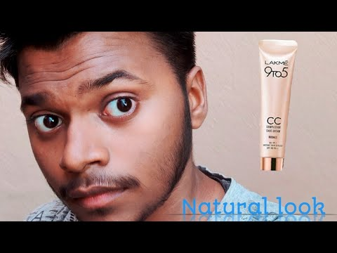 Mens makeup using Lakme CC cream for natural look / by Adil lifestyle