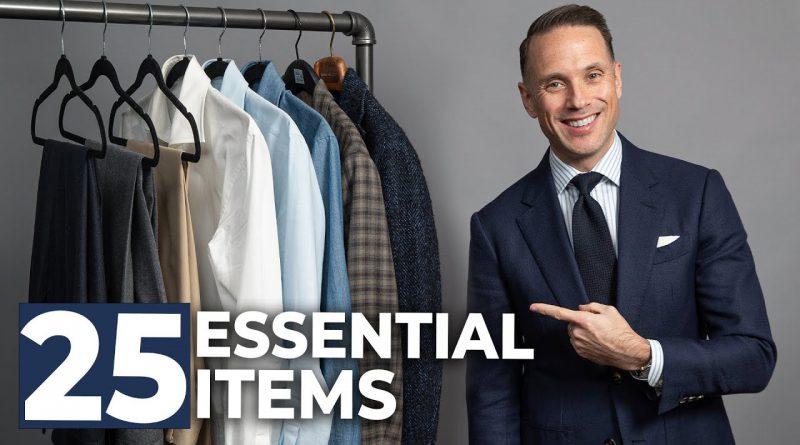 The ULTIMATE Beginner's Capsule Wardrobe   25 Men's Wardrobe Essentials