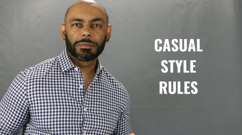 Top 6 Men's Casual Style Rules