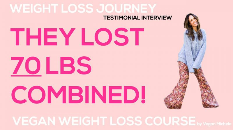 WHOLE FOOD PLANT BASED DIET WEIGHT LOSS JOURNEY // Testimonial Interview // 70 lbs. Combined So Far!
